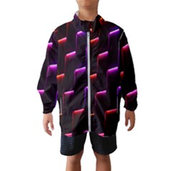 Mode Background Abstract Texture Wind Breaker (kids)