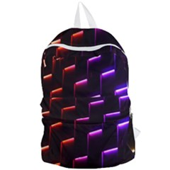 Mode Background Abstract Texture Foldable Lightweight Backpack