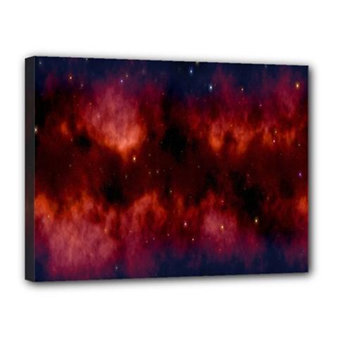 Astronomy Space Galaxy Fog Canvas 16  X 12