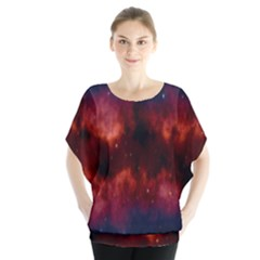Astronomy Space Galaxy Fog Blouse