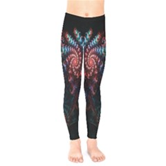 Abstract Background Texture Pattern Kids  Legging