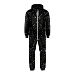Emboss Luxury Artwork Depth Hooded Jumpsuit (kids)