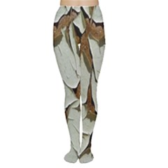 Dry Nature Pattern Background Women s Tights