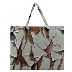 Dry Nature Pattern Background Zipper Large Tote Bag