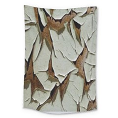 Dry Nature Pattern Background Large Tapestry