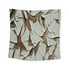 Dry Nature Pattern Background Square Tapestry (small)