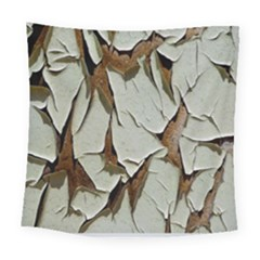 Dry Nature Pattern Background Square Tapestry (large)