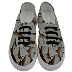 Dry Nature Pattern Background Men s Classic Low Top Sneakers