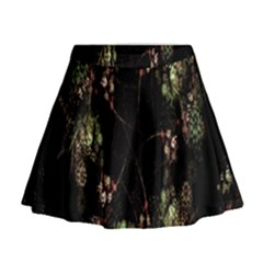 Fractal Art Digital Art Mini Flare Skirt