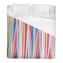 Background Decorate Colors Duvet Cover (full/ Double Size)