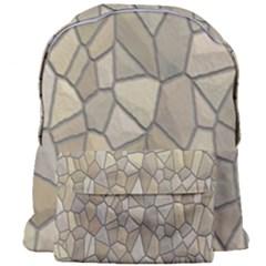 Tile Steinplatte Texture Giant Full Print Backpack