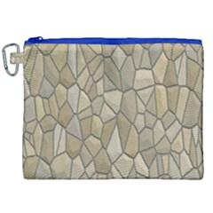 Tile Steinplatte Texture Canvas Cosmetic Bag (xxl)