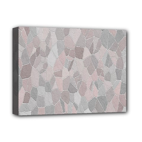 Pattern Mosaic Form Geometric Deluxe Canvas 16  X 12