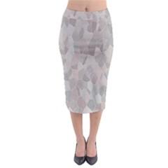 Pattern Mosaic Form Geometric Midi Pencil Skirt