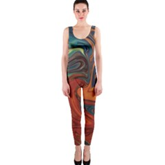 Creativity Abstract Art Onepiece Catsuit