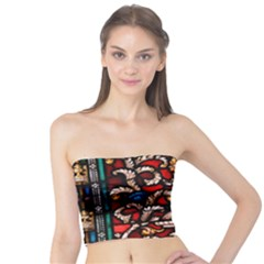 Decoration Art Pattern Ornate Tube Top