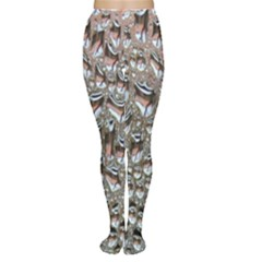 Droplets Pane Drops Of Water Women s Tights