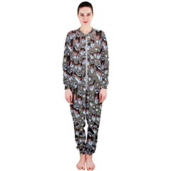 Droplets Pane Drops Of Water Onepiece Jumpsuit (ladies)