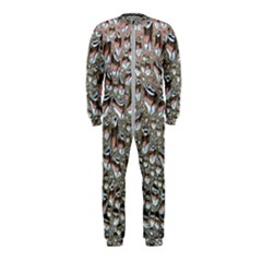 Droplets Pane Drops Of Water Onepiece Jumpsuit (kids)