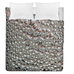 Droplets Pane Drops Of Water Duvet Cover Double Side (queen Size)