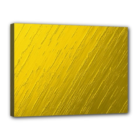 Golden Texture Rough Canvas Golden Canvas 16  X 12