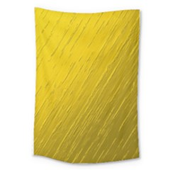 Golden Texture Rough Canvas Golden Large Tapestry