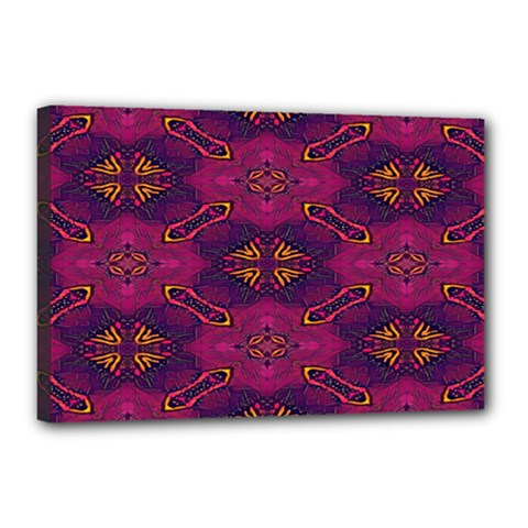 Pattern Decoration Art Abstract Canvas 18  X 12