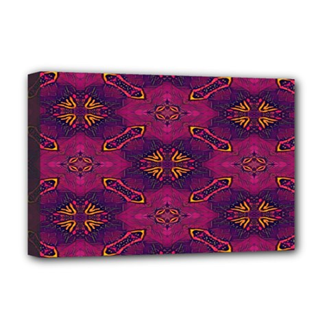 Pattern Decoration Art Abstract Deluxe Canvas 18  X 12
