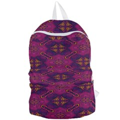 Pattern Decoration Art Abstract Foldable Lightweight Backpack