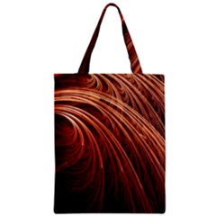 Abstract Fractal Digital Art Zipper Classic Tote Bag