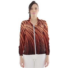 Abstract Fractal Digital Art Wind Breaker (women)