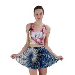 Mandelbrot Fractal Abstract Ice Mini Skirt