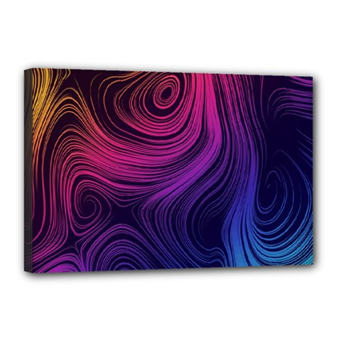 Abstract Pattern Art Wallpaper Canvas 18  X 12