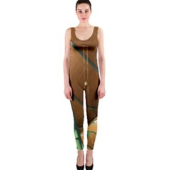 Airport Pattern Shape Abstract Onepiece Catsuit
