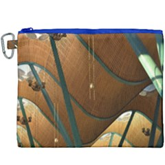 Airport Pattern Shape Abstract Canvas Cosmetic Bag (xxxl)