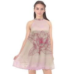 Desktop Background Abstract Halter Neckline Chiffon Dress