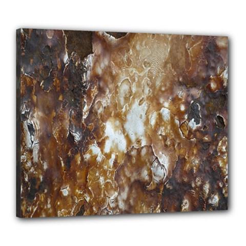 Rusty Texture Pattern Daniel Canvas 24  X 20