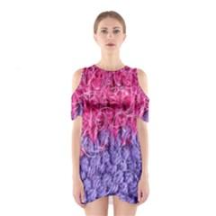 Wool Knitting Stitches Thread Yarn Shoulder Cutout One Piece