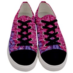 Wool Knitting Stitches Thread Yarn Men s Low Top Canvas Sneakers
