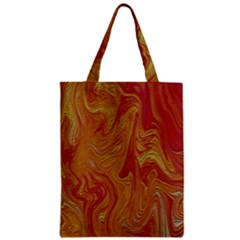 Texture Pattern Abstract Art Zipper Classic Tote Bag