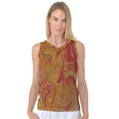 Texture Pattern Abstract Art Women s Basketball Tank Top