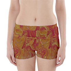 Texture Pattern Abstract Art Boyleg Bikini Wrap Bottoms