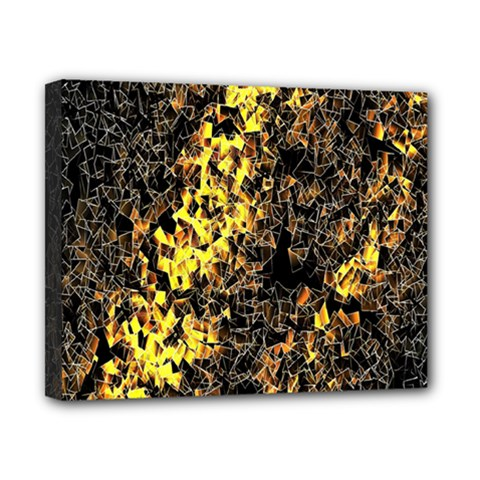 The Background Wallpaper Gold Canvas 10  X 8