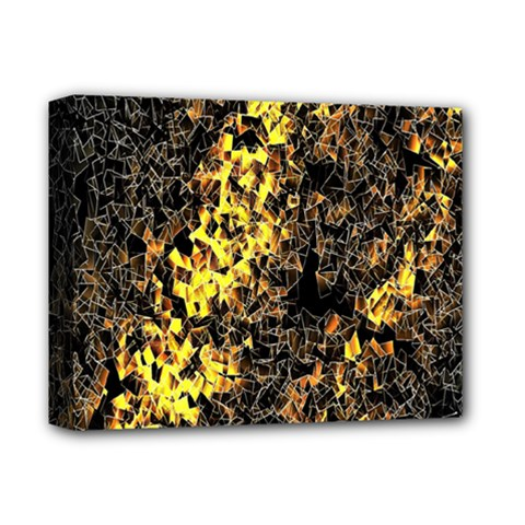 The Background Wallpaper Gold Deluxe Canvas 14  X 11