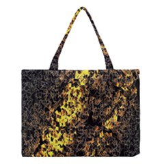 The Background Wallpaper Gold Medium Tote Bag