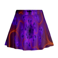 Fractal Mandelbrot Julia Lot Mini Flare Skirt