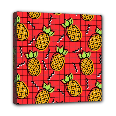 Fruit Pineapple Red Yellow Green Multi Function Bag