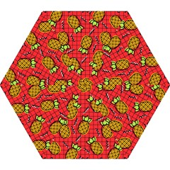 Fruit Pineapple Red Yellow Green Mini Folding Umbrellas