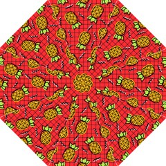 Fruit Pineapple Red Yellow Green Hook Handle Umbrellas (large)