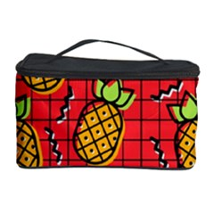 Fruit Pineapple Red Yellow Green Cosmetic Storage Case